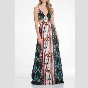 Elan Side Cut-Out Maxi Dress